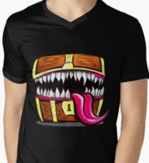 Mimic Chest - Dungeons & Dragons Monster Loot V-Neck T-Shirt