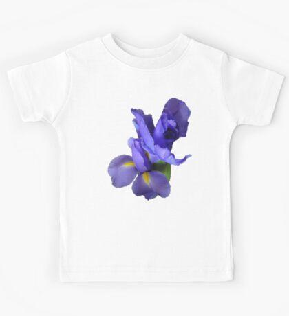 Incredible Iris on black Kids Clothes