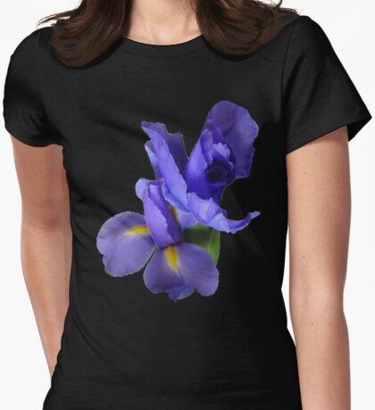 Incredible Iris on black T-Shirt