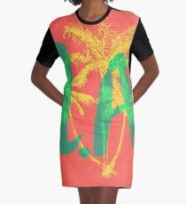 Los Angeles Graphic T-Shirt Dress