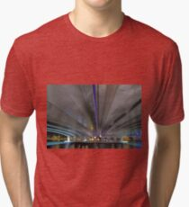 Under The Narrows Bridges  Tri-blend T-Shirt