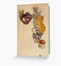 Egon Schiele - Peasants Jug 1918 Greeting Card
