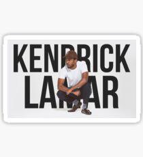 Kendrick Lamar - Text Portrait Sticker