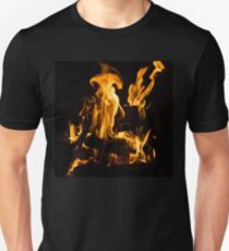 Hot Sparks - Comfort and Warmth by the Fireplace Unisex T-Shirt