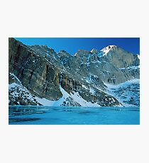 Blue Chasm Photographic Print