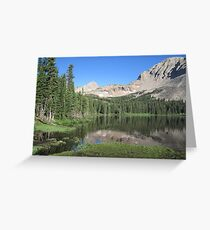 Summer in the Rockies Greeting Card