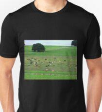 Dairy herd resting - South Purrumbete, Vic. Unisex T-Shirt