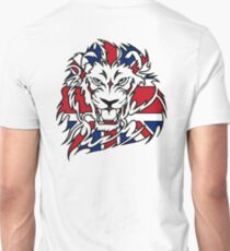 BRITISH, LION, Union Jack, Sport, Big Cat, Cat, Roar, Snarl, King of the Jungle T-Shirt