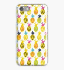 Pineapples colorful seamless pattern. iPhone Case/Skin
