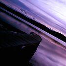 Back Lake Jetty - No.1 - Merimbula ... by Erin Davis