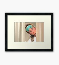 Miss Whoeveryouare Framed Print