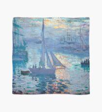 Sunrise - Marine - Claude Monet - 1873 Scarf
