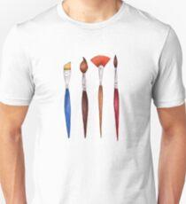 set brushes_color pencil Unisex T-Shirt
