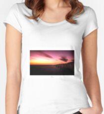 Osmose Tailliertes Rundhals-Shirt