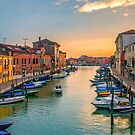 Murano Sunset by Brian Tarr