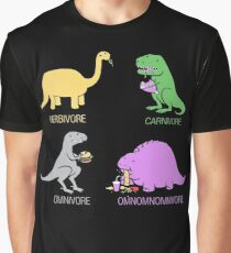 Funny Dinosaurs Graphic T-Shirt