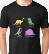 Camiseta unisex Divertidos dinosaurios
