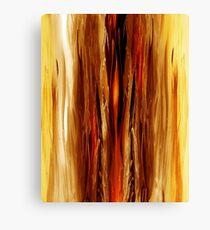 Abstract Forest Hidden Secrets Canvas Print