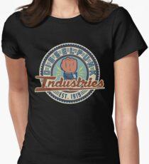 New Dieselpunk Industries Logo Women's Fitted T-Shirt