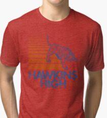 Hawkins High (Stranger Things) Tri-blend T-Shirt