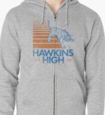 Hawkins High (Stranger Things) Zipped Hoodie