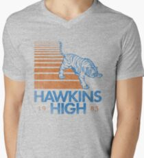 Hawkins High (Stranger Things) Men's V-Neck T-Shirt