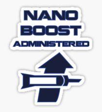 Nano Boost Administered Sticker