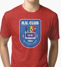 Hawkins AV Club (Stranger Things) Tri-blend T-Shirt