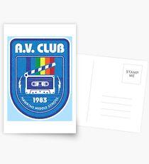 Postales Hawkins AV Club (Cosas extrañas)