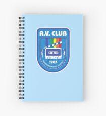 Hawkins AV Club (Stranger Things) Spiral Notebook