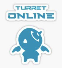 Turret online Sticker