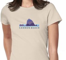 Cannon Beach. Womens Fitted T-Shirt