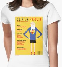 Real Life Superhero Women's Fitted T-Shirt