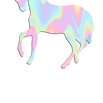 Tie Dye Unicorn by Lilxpie