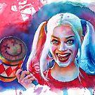 Crazy Margot Robbie by illusoryart