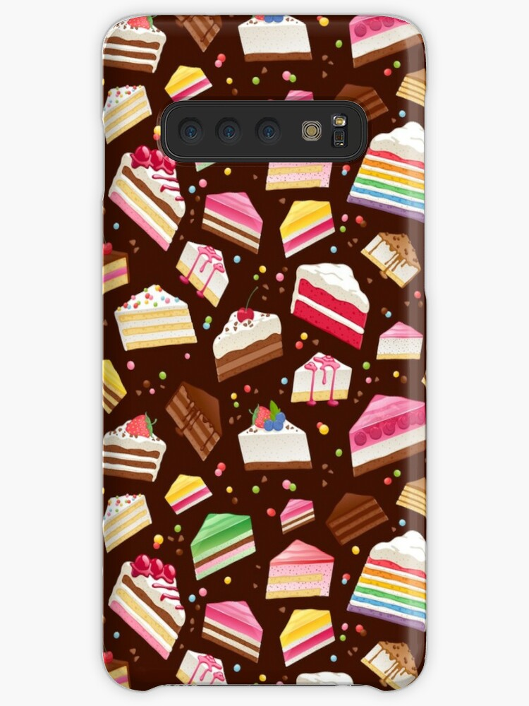 \u0027Colorful sweet cakes slices pattern.\u0027 Case/Skin for Samsung Galaxy by  Reamolko