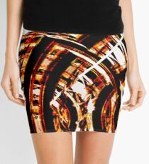 Circular madness Mini Skirt