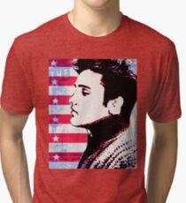 Elvis portrait nº3 Tri-blend T-Shirt