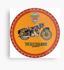 Matchless Clubman Motorcycles UK Metal Print
