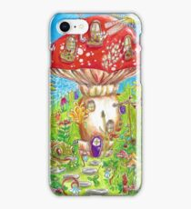 Little Mushroom House iPhone Case/Skin