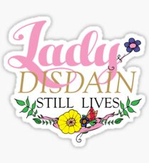 Lady Disdain #2 Sticker