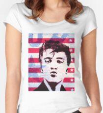 Elvis portrait nº5 Women's Fitted Scoop T-Shirt