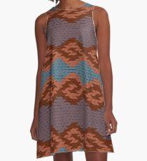 Grecian A-Line Dress