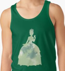 Character Inspired Silhouette  Tank Top