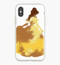 Character Inspired Silhouette  iPhone Case
