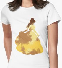 Character Inspired Silhouette  Women's Fitted T-Shirt