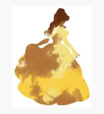 Character Inspired Silhouette  Photographic Print