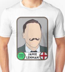 Jamie Lenman (Reuben) panini sticker Unisex T-Shirt