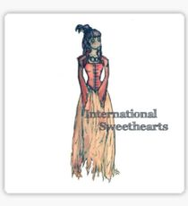 International Sweethearts Sticker