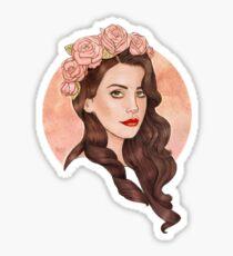 Lana Sticker